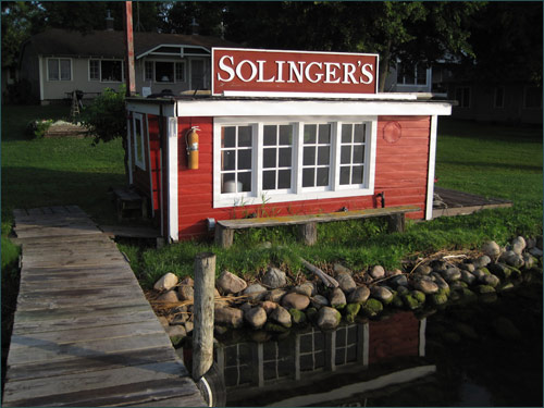 On the Water at Solinger's Resort